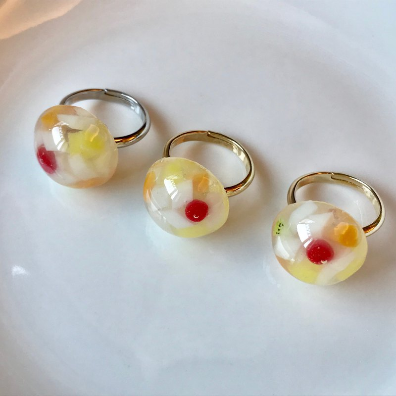 chinese almond jelly ring