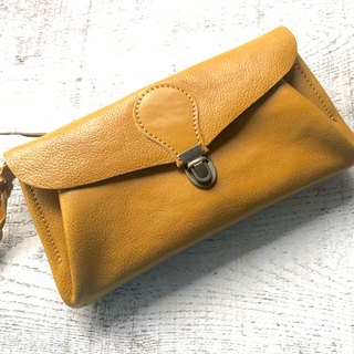 "Soft Nume leather wallet ""series-envelope"" Dandelion"