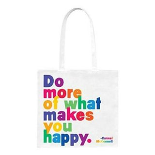 Happy canvas bag