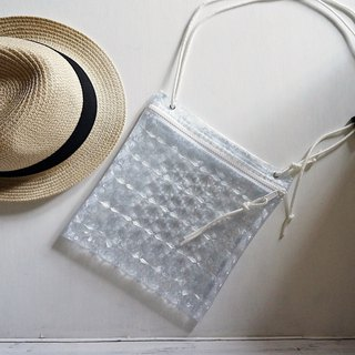 Glitter crystal transparent plastic bag Sacoshbag