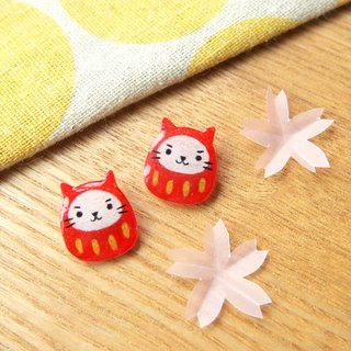 Meow - Japanese style cat earrings