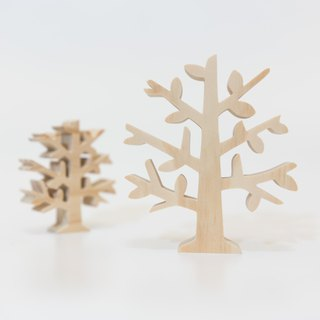 wagaZOO thick cut modeling building blocks plant series - small tree