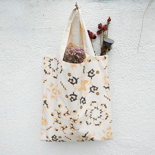 3 Layers Kaleidoscope Pattern tote bag