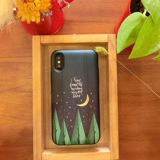 【Night】Card Case /Special Design iPhoneX 8+ 7 6S plus||SamsungNote8/5 S9+S8+S9S8