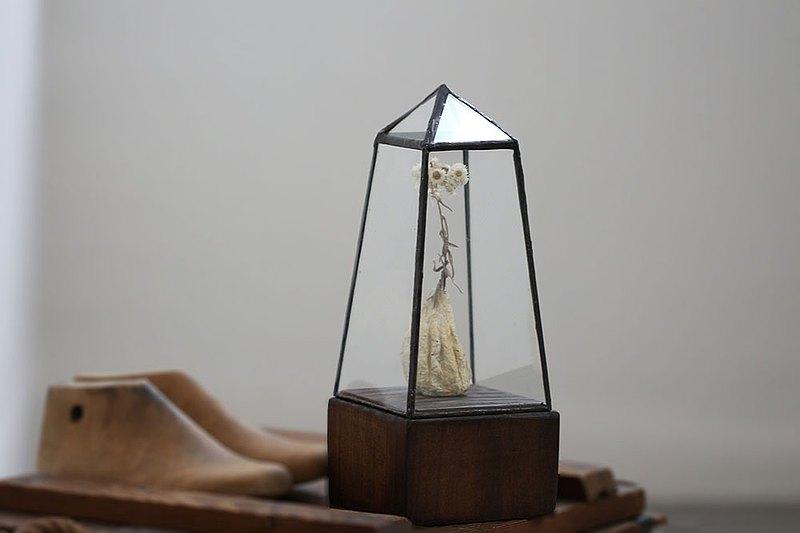 小房子玻璃屋∣玻璃工藝∣公仔玻璃屋∣水晶擺飾
