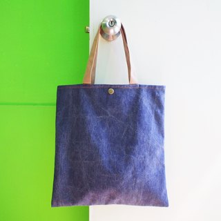 E * group A4 Washable bag gray blue