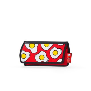 JumpFromPaper Egg Printed Red Purse