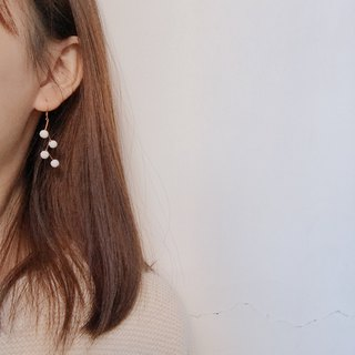 Coral Earring Ear Clips