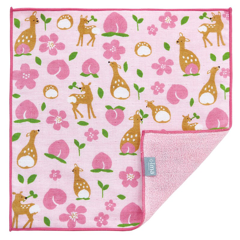 【IMA】WAFUKA Japan made Absorben, Soft, Cute & Unique Handkerchief- Candy Fish