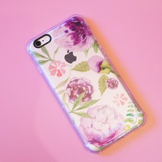 Peony Garden】 【iPhone 6S / i6S / iPhone 6 Plus / iPhone 6S Plus original phone soft shell / protective shell / shatter-resistant shell / protective cover / phone shell