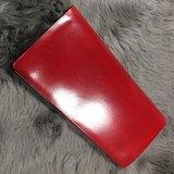 Rever leather 全人手製作 暗紅色 無縫長夾 長銀包 皮革長銀包 品質保證 意大利品牌ilbussetto代工