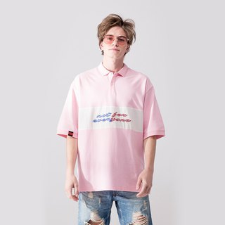 UNISEX OVERSIZED POLO SHIRT