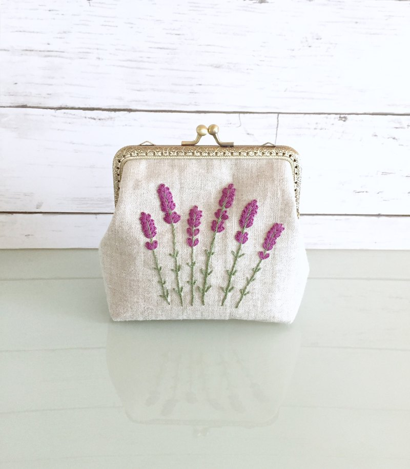 Order Production frame purse L lavender