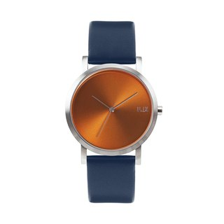 Minimal Watches : Metal Project Vol.02 - COPPER  (Blue)