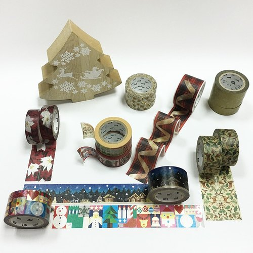 mt Masking Tape.Christmas 2017【Luxury Set (15 Rolls)】 28% OFF
