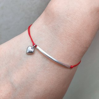 Line To My Heart Bracelet | Love Bracelet | Love String Bracelet | Romantic Gift