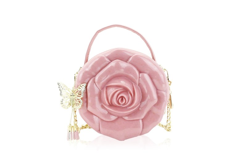 Adamo 3D Bag Original Rose of Anatolia Sling Bag (Double zipper, Shoulder Strap)
