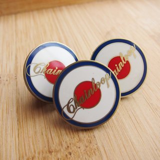 Chainloop MODS enamel brooch badge badge PIN Taiwan designer brands (trio)
