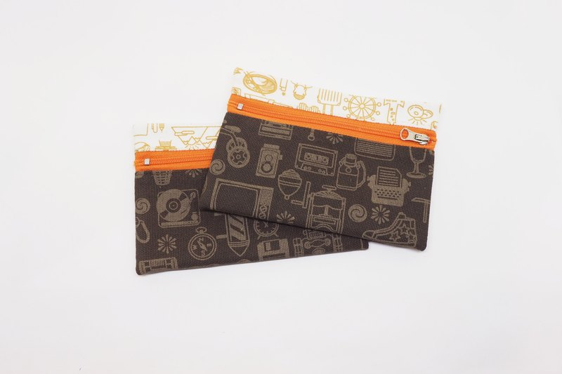 Nostalgic Taiwan [change bag / orange version]