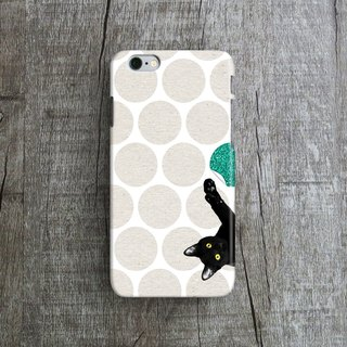Kittens on the play - Designer iPhone Case. Pattern iPhone Case.