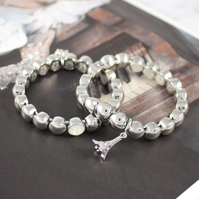 Beleza Crystal Goddess Bracelet (Paris New York) Swarovski crystal elements  - Designer BELEZA  51cc87929
