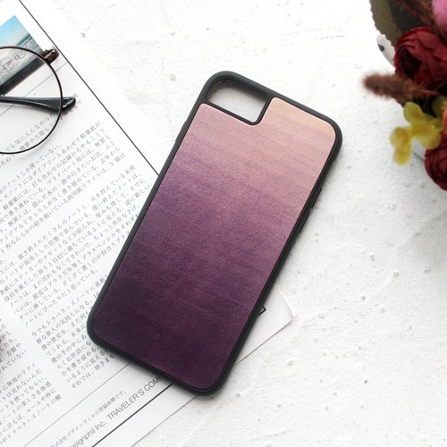 Purple iphone6s 7 8 plus X Leather Phone Case