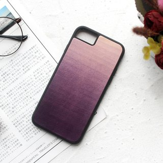 Purple iphone 6 7 8 plus x xs max xr leather phone case protective case customization