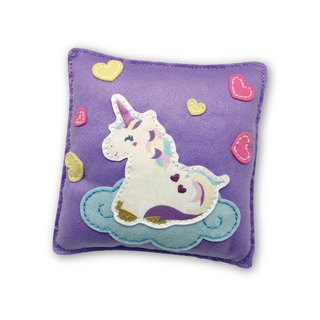 Fairy Land [Material Pack] Unicorn Pillow - Purple