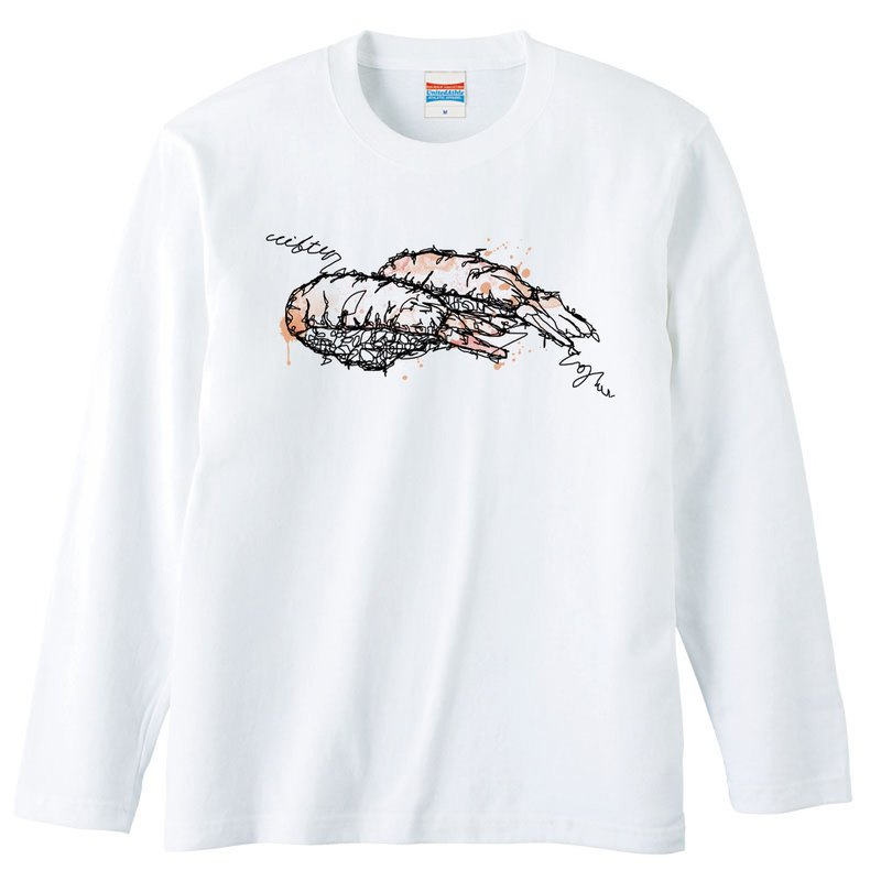 Long sleeve T shirt Sushi ebi