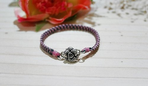 Thailand wax line silk silver _ X can be chosen favorite rose color // //