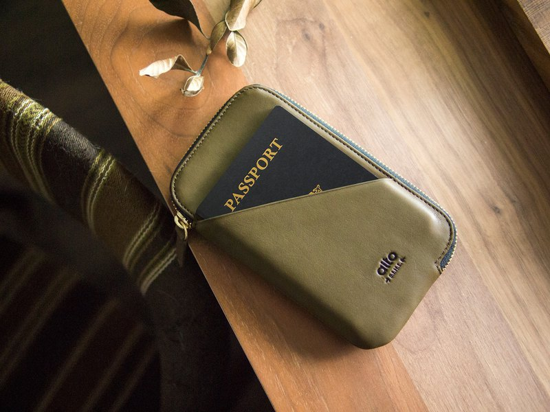 alto Travel Phone Wallet – Olive