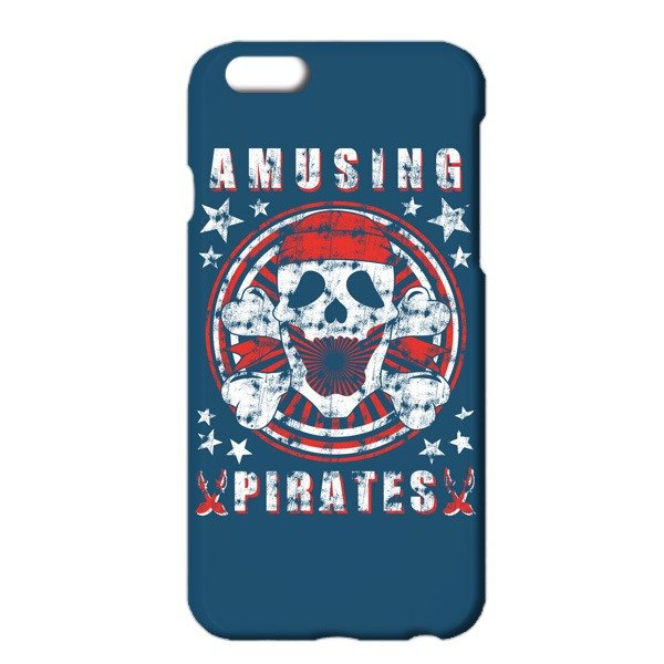 [iPhoneケース] Pirate / Navy