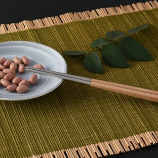 United States VitaCraft only his pot [NuCook] Taiwan made stainless steel beech composite chopsticks 5 pairs