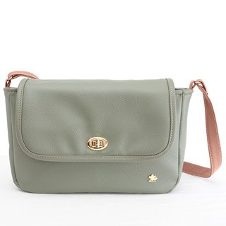 CLM turn side bag _ brown green