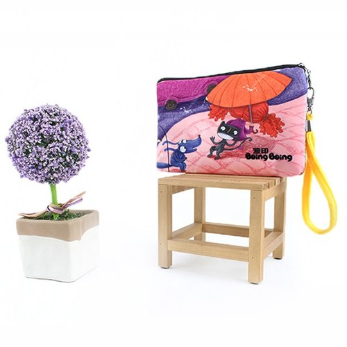 Boing cosmetic bag- rainning AO-1607-3D