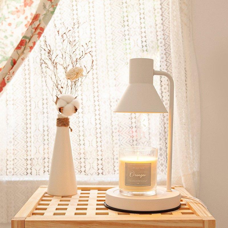 朵納香氛融蠟薰香燈組(燈+蠟燭)