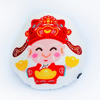 MARK TAIWAN Mai Mai Grand Festival - God of Wealth (Pillow)