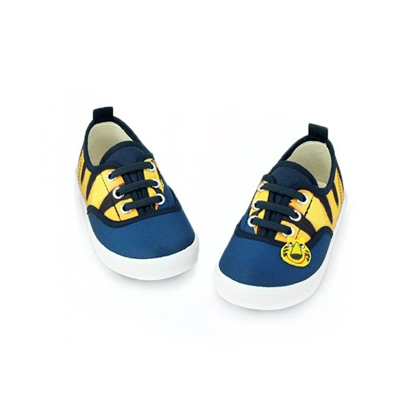 Elastic band shoes color dark Blue for toddler, the price only the shoes