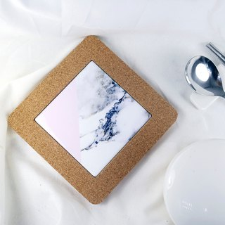 Marble Trivet Cork Kitchen Decoration