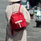 好日推好物商品:【小嘖嘖包】DYDASH x 3way手提/斜肩背/後背包(小草莓跳格子)