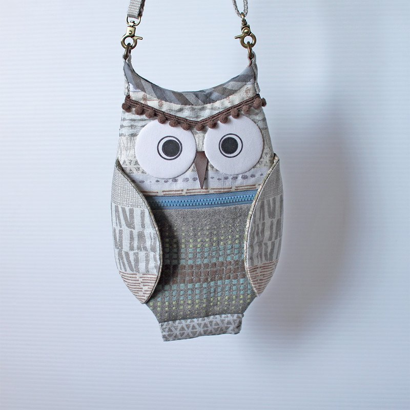 Owl Cross Bag No.7