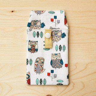 Variety owl Pocket Pencil Case / Accessory Bag
