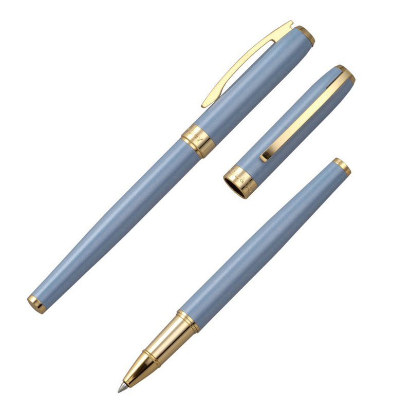 [Chris & Carey] Essence Essence Ballpoint Pen (Free lettering) / Powder Gray Blue ESRP-12