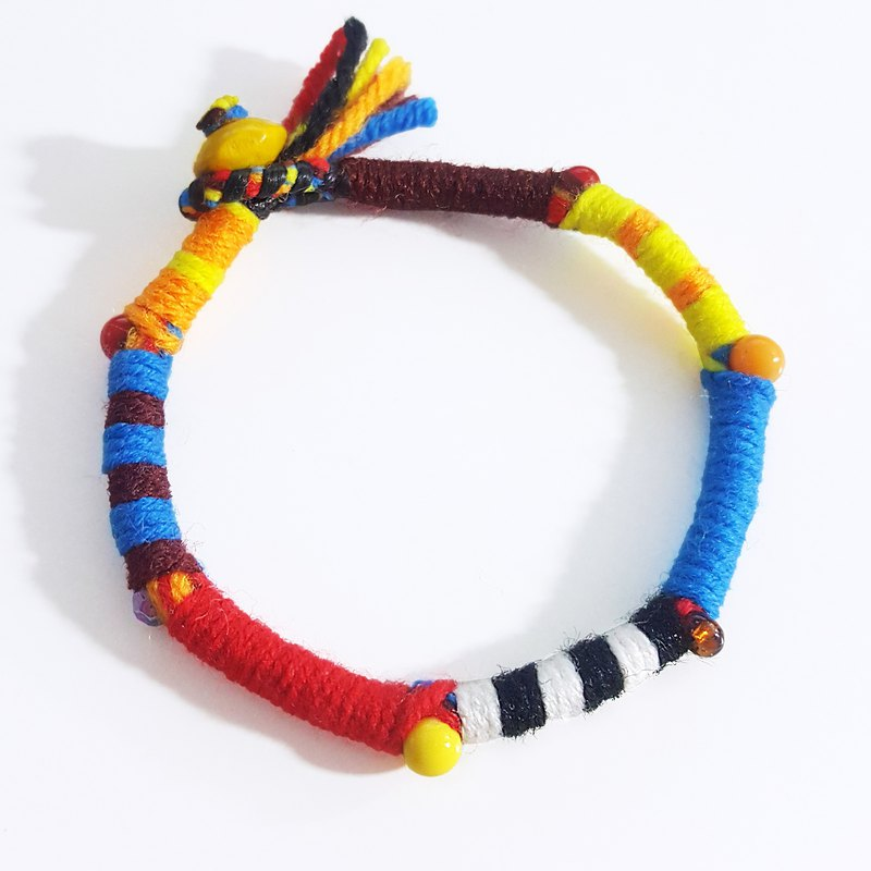 Guess who I am zero / cartoon toy series / hand-woven bracelet / foot ring