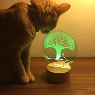 【Cattitude】 LED Lamp night light LD05