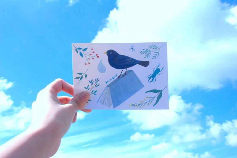 Gardener Bird Collection Second Edition Birdie Postcard