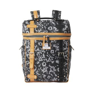 AMINAH-black splash back backpack [am-0300]