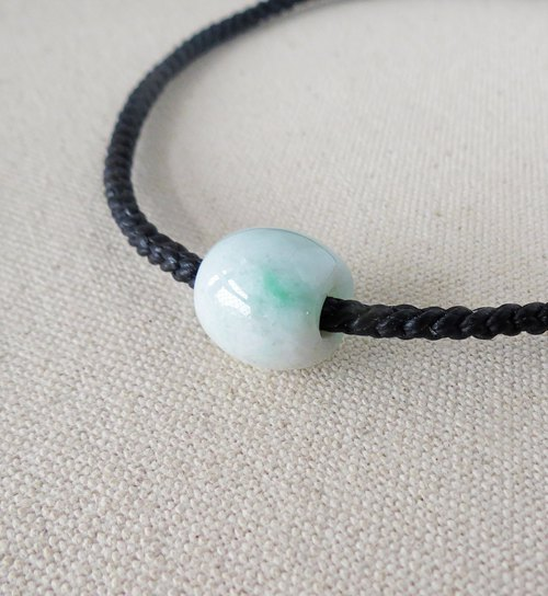 Sterling silver ***Fashion [lucky stone] jade silk wax wax bracelet*[2] * [eight strands series]