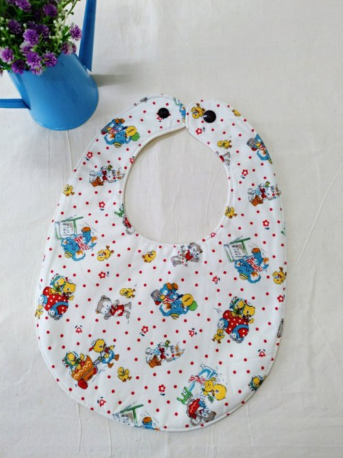 Little elephant bib pocket pocket water towel waterproof bib pocket full moon ceremonies