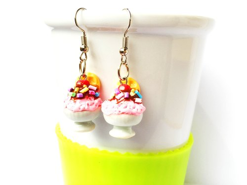 Earrings ice cream